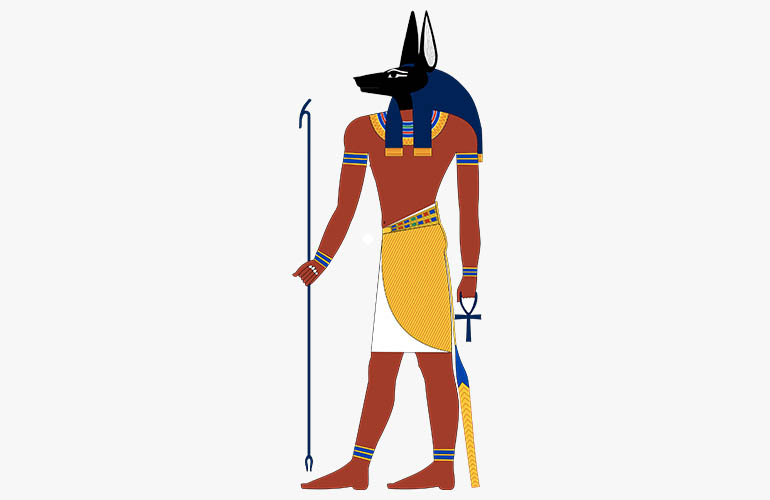 Anubis The Egyptian Death God With Dog Head Facts Art Meaning